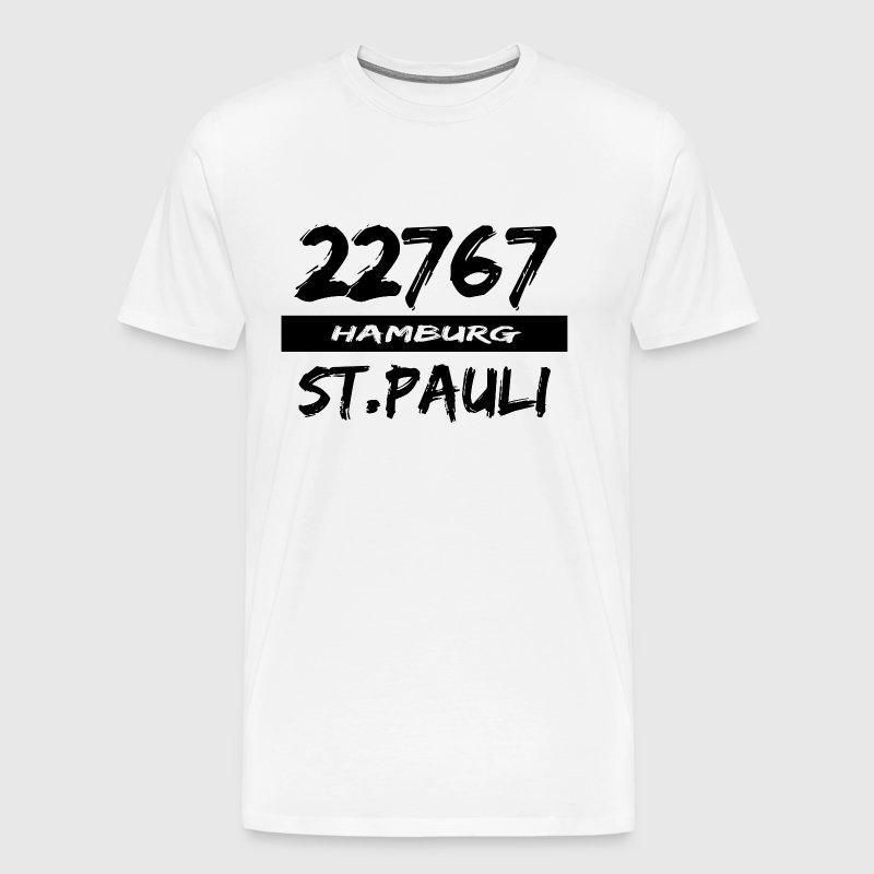 22767 Hamburg St Pauli - Men's Premium T-Shirt