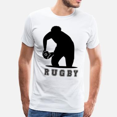 Rugby rugby - Camiseta premium hombre