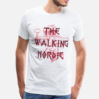 Nordic The Walking Nordic - Mannen Premium T-shirt