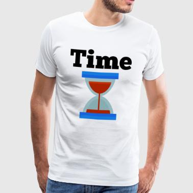 Time Time Hourglass Clock Time - Men's Premium T-Shirt