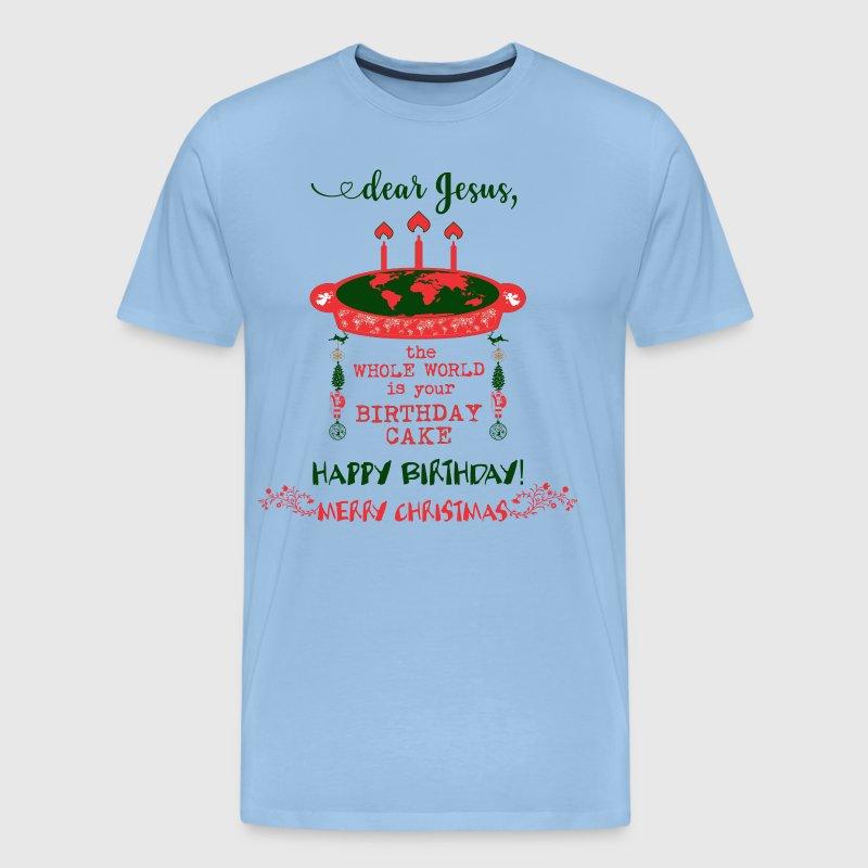 Jesus Birthday Cake Merry Christmas By Spreadshirt