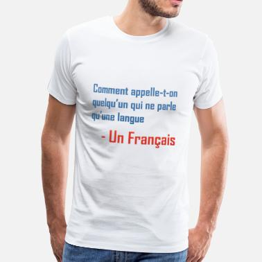 Blagues Gay blague française - T-shirt Premium Homme