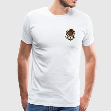 Flower Twine Sunflower gift idea - Men's Premium T-Shirt