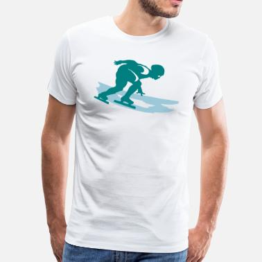 Shorttrack shorttrack - Männer Premium T-Shirt