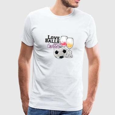 Funny Soccer Funny Womens Soccer Gift for Player, Coach or Fan - Men's Premium T-Shirt