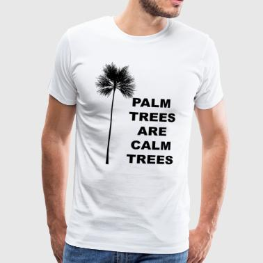 Sister Palm Trees Gift for Tropical California Beach and Coconut Lovers - Men's Premium T-Shirt