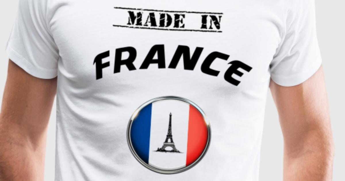 tee shirt france france made in france t shirt spreadshirt. Black Bedroom Furniture Sets. Home Design Ideas