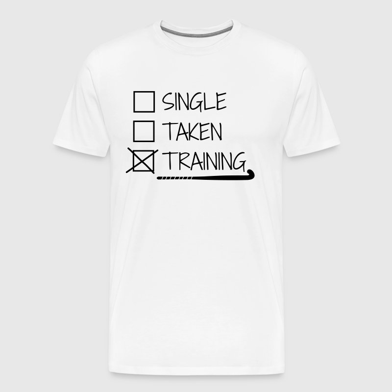Hockey - Single Taken Training - Men's Premium T-Shirt