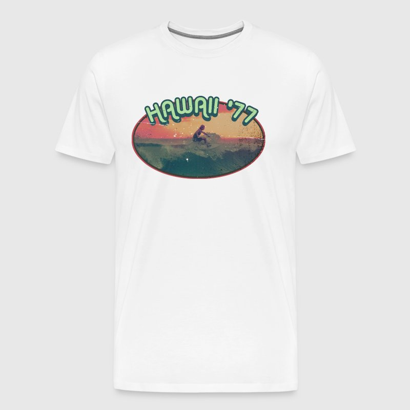 hawaii 77 - Men's Premium T-Shirt