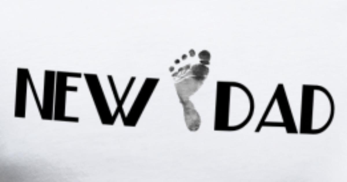 New Dad (Add DATE} von | Spreadshirt