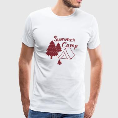 Camping in summer camp camp gift - Men's Premium T-Shirt