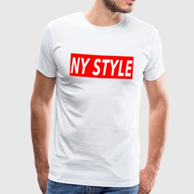 NY Style - style New York Salsa - rouge - T-shirt Premium Homme