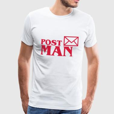 Post Man - Männer Premium T-Shirt