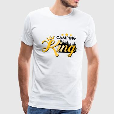 camping King - Men's Premium T-Shirt