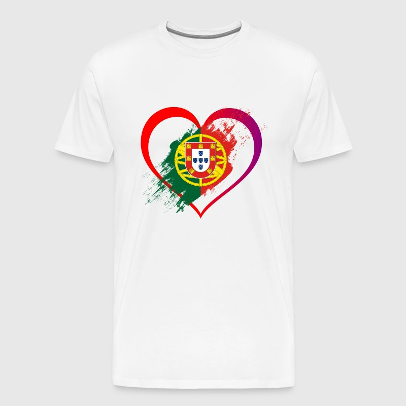 I LOVE PORTUGAL COLLECTION - Men's Premium T-Shirt