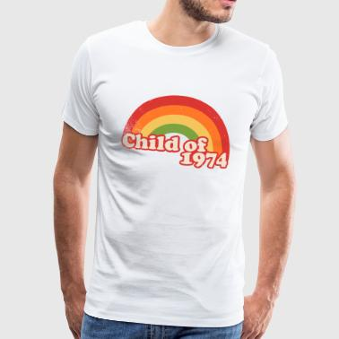 kind 1974 - Mannen Premium T-shirt