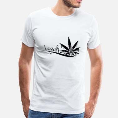 Legalize It Legalize It Weed - T-shirt Premium Homme
