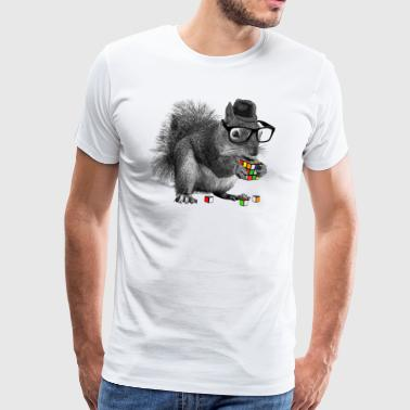 Rubik's Squirrel - Men's Premium T-Shirt