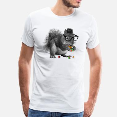 Rubiks Cube Kids Rubik's Squirrel - Men's Premium T-Shirt