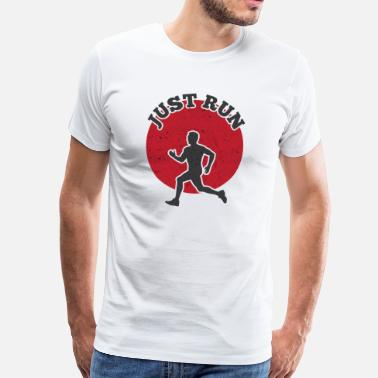 Iron Man JUSTE RUN - T-shirt Premium Homme