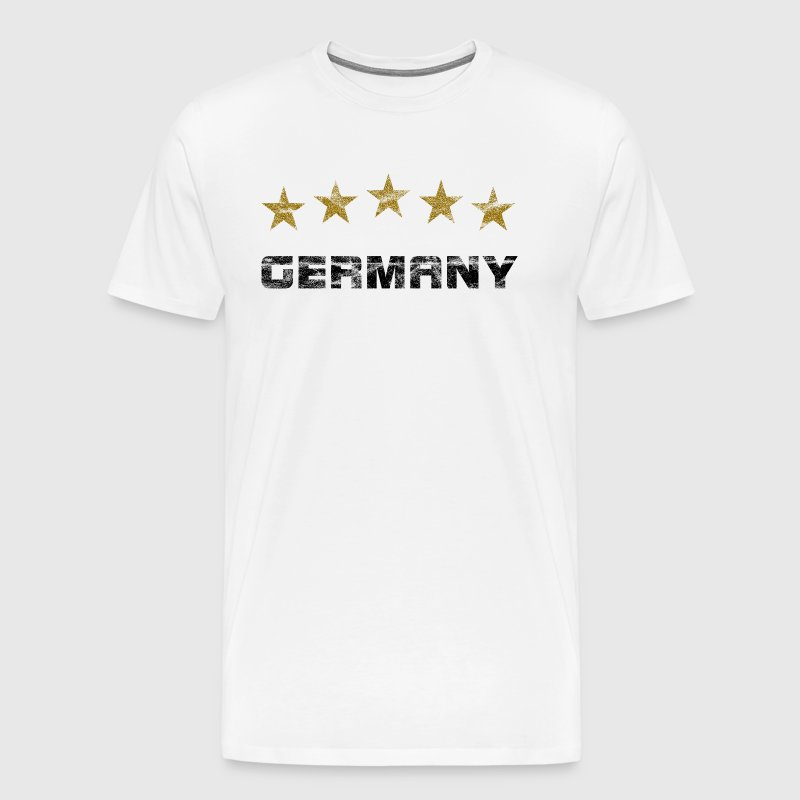 5 stars vintage - Germany bow - Men's Premium T-Shirt