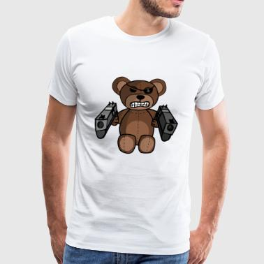 Gun Teddy - Men's Premium T-Shirt