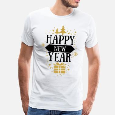 New Years Day Happy new year newyear new year happy new year cool - Men's Premium T-Shirt