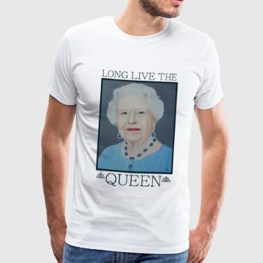 Queen Elizabeth of England - Gift - Men's Premium T-Shirt