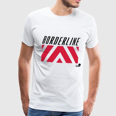 BORDERLINE - T-shirt Premium Homme