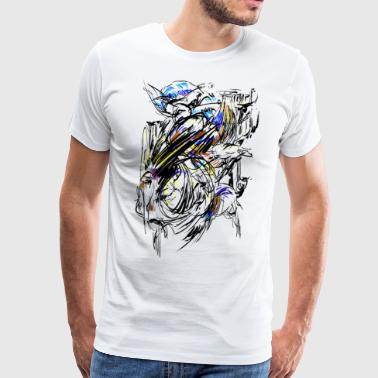 Indian werelden - Mannen Premium T-shirt