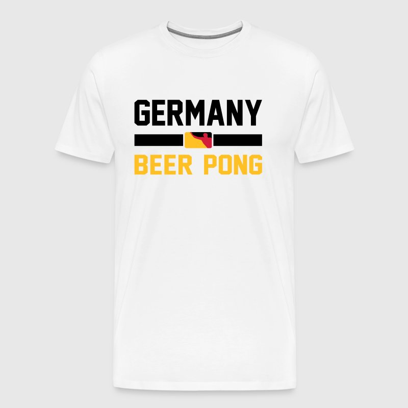 Germany Beer Pong - Men's Premium T-Shirt