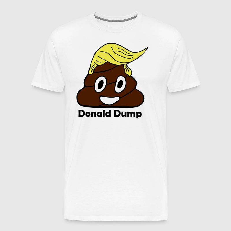 Donald dump - Men's Premium T-Shirt