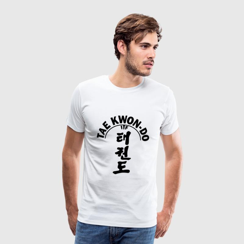 ITF Tae Kwon Do symbols - Men's Premium T-Shirt