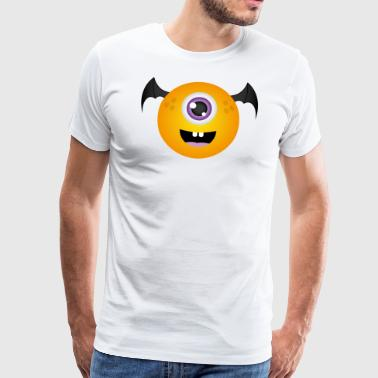 Bullet Bat Monster - Mannen Premium T-shirt