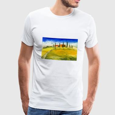 Typical Typical Tuscan motif - Men's Premium T-Shirt