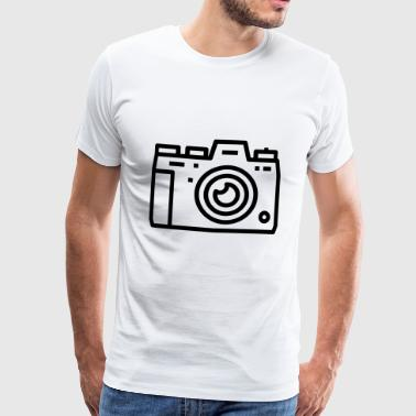 Camera Camera Photo Camera digitale Camera Gift - Maglietta Premium da uomo