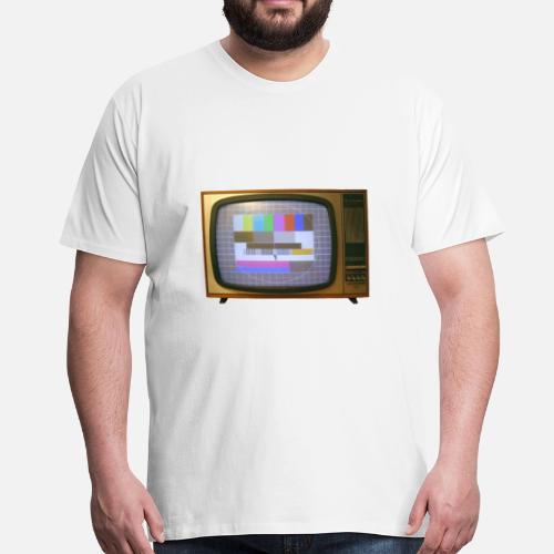 Vintage Fernseher Männer Premium T-Shirt   Spreadshirt 8570733b6a
