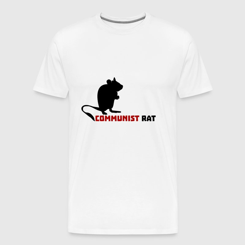 Communist Rat - Men's Premium T-Shirt