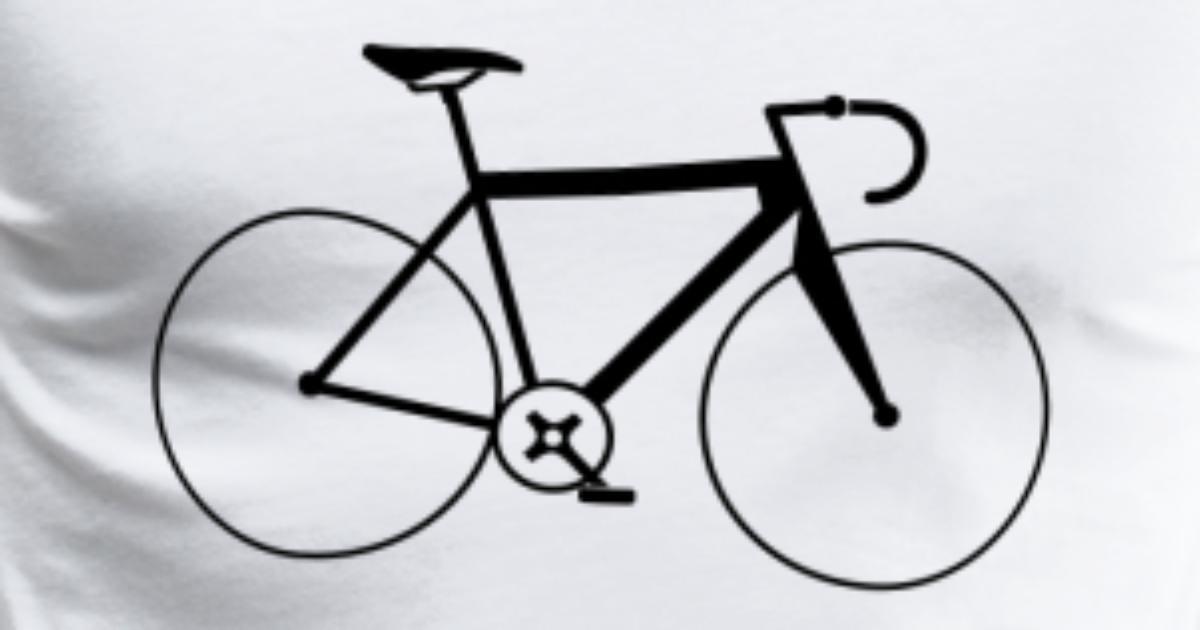 fahrrad bike m nner premium t shirt spreadshirt. Black Bedroom Furniture Sets. Home Design Ideas