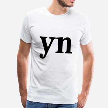 Skype YN - WHY NOT - Männer Premium T-Shirt