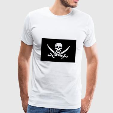 Jolly Roger! - Premium T-skjorte for menn