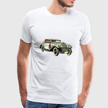 Old Car / Vintage Car / Vintage Car Gift - Men's Premium T-Shirt