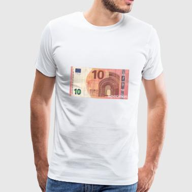 Euro bill / Euro / Euro bill - Men's Premium T-Shirt