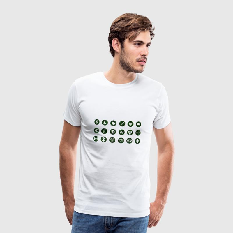 Crypto Currencies - Men's Premium T-Shirt