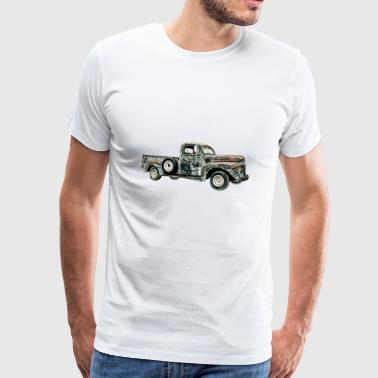 Pick-up vintage - Mannen Premium T-shirt