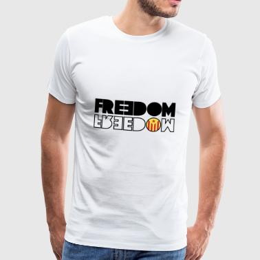 FREEDOM CATALONIA (RED EDITION) - Camiseta premium hombre