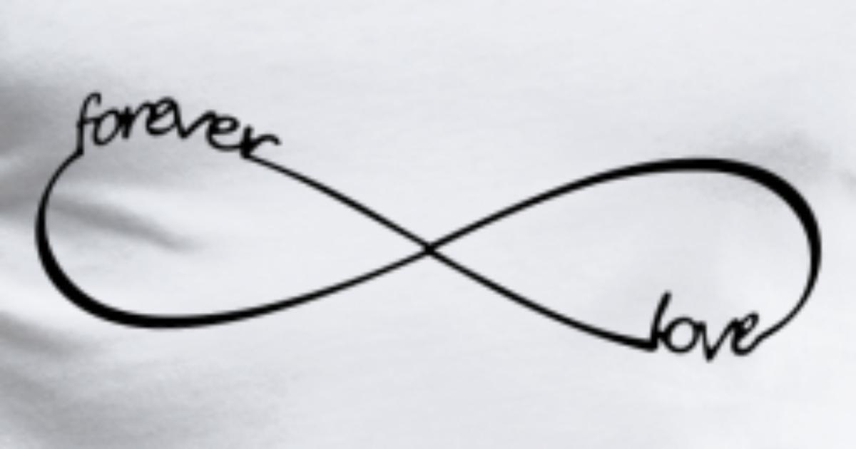 Forever Love Infinity Symbol 8 By Sylltrade Spreadshirt