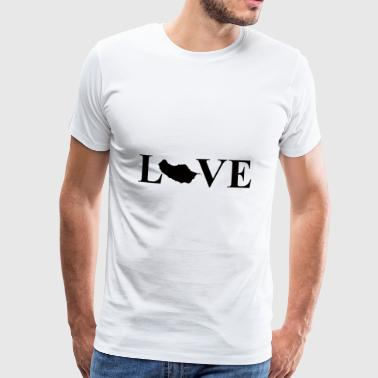 I Love Madeira black - Men's Premium T-Shirt