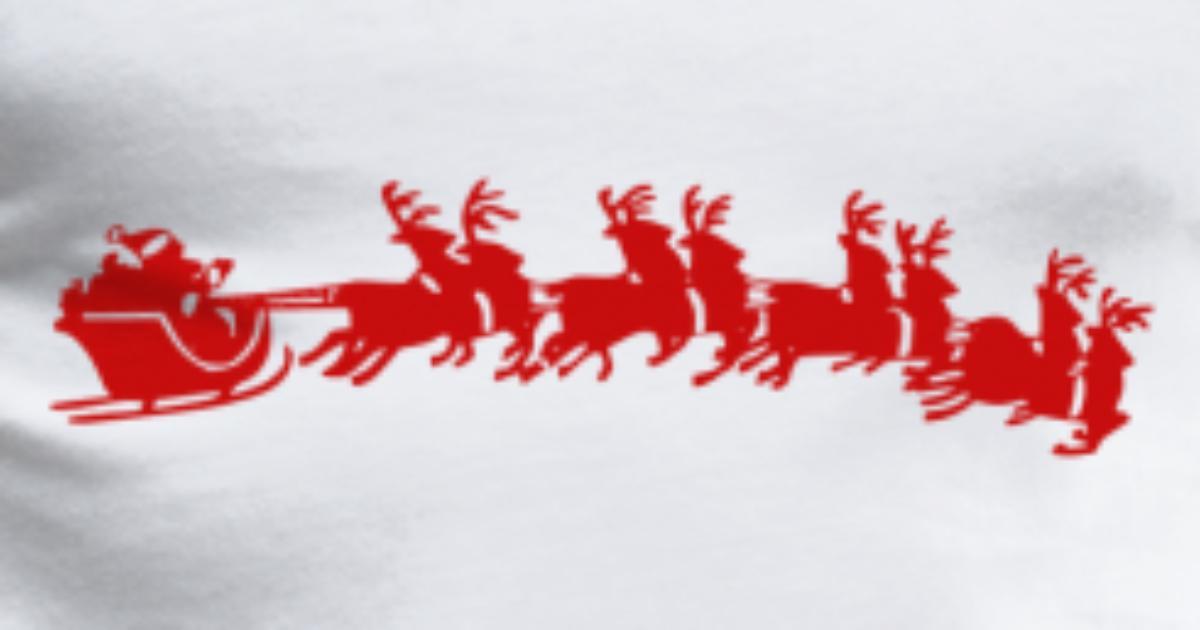 santa sleigh ride christmas schlitten weihnachten3 von Lustige Coole ...