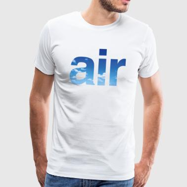 air - Mannen Premium T-shirt